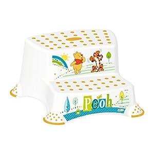 "Set of 6 Z Winnie Pooh Bathtub XXL 39.37"" White Bath Seat Potty Toilet Seat Adapter 2 Level Stool Diaper Pail New"