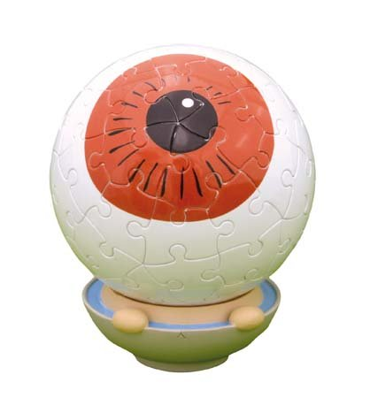 Kitaro 60 piece eyeball father of 3D sphere puzzle Kitaro (diameter of about 7.6cm) (japan import)