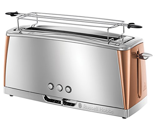 Russell Hobbs Grille-Pain, Toaster Spécial Baguette Luna,...