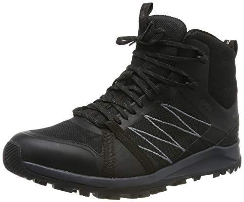 The North Face M LW Fp II Mid GTX, Botas de Senderismo para Hombre, Negro TNF Black/Ebony Grey Ca0...