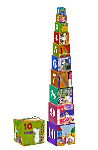 Moomin Stacking Cubes Classic