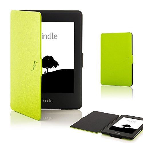 Forefront Cases Kindle Paperwhite (Solo per 2012, 2013, 2015 Modello) Smart Case Cover Custodia Caso Conchiglia - Ultra Robusto Leggero Protezione Dispositivo Completa Smart Auto Sveglia Sonno (ROSSO)