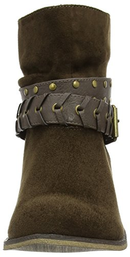 New Look Damen Catty Stiefel & Stiefeletten Braun - Braun (Khaki)