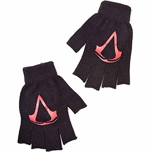 gerhandschuhe Logo, schwarz (Assassin ' S Creed Handschuh)