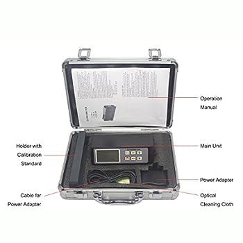 Tr-z-gm-268 Digitaler Lcd Glanzmessgerät Usb Schnittstelle Rs-232 Datenausgabe 0,1 ~ 200gu 20 ℃ 60 ℃ 85 ℃ Glanzmesser Vancometer 4