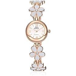 Frau, Quarz-Uhr, Mode, Persönlichkeit, Freizeit, Keramik, Metall, W0352