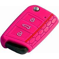 "'* Octavia 3Skoda ""Rosa RS Key Cover · Llave Carcasa Mando a distancia · Llave funda para llaves"