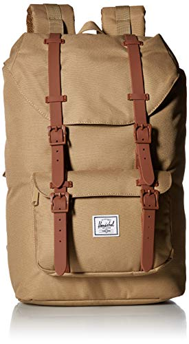 Herschel Little America Mid-Volume Backpack 40.5 cm kelp/Saddle Brown