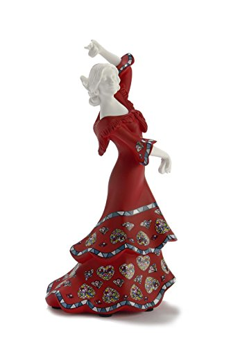 Nadal Decorative Figure Spanish Grace, Resin, 6.00x7.20x15.00 cm