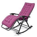 SOYX [65 Klappbarer Strandstuhl, Klappstühle, Aluminium Webenstuhl, Rasenstühle Davenport, Campstool, Stuhl Bett, Klappsitz, Chaise Chair-Style8