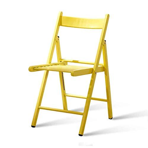 TANGONG Chaise Pliante Moderne Minimaliste en Fer Forgé Chaise Arrière Chaise en Métal Loisirs Fer Chaise Chaise Balcon Chaise Extérieure
