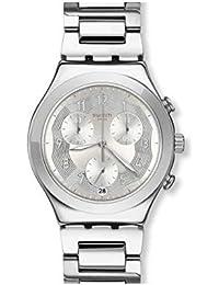 Swatch Men s Wristwatch Chronograph Silver Ring YCS604G a35d21bb3db