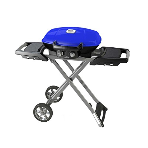 Napoleon Travel Q mit Wagen Gasgrill TQ285X-BL in blau