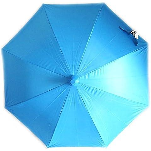 Cubierta abatible 'Coloriage'paraguas azul.