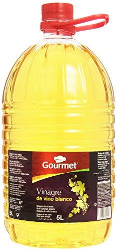 Gourmet - Vinagre de vino blanco - Acidez de 6° - 5 l