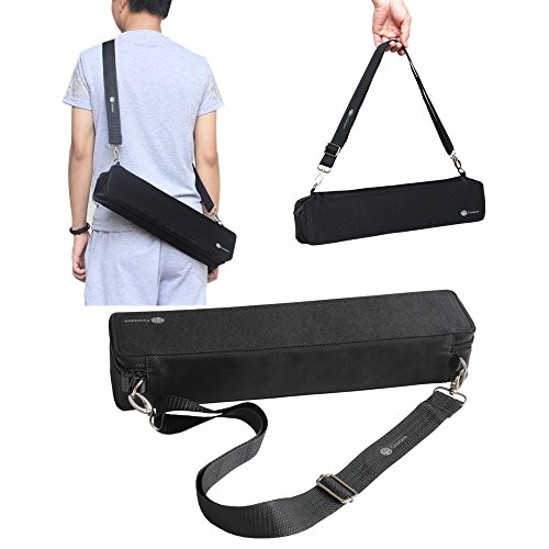 Junsi Portable Carry Case Organizer Bag Box w/4 Moveable Divers for Cards Against Humanity/Uno/Card Games