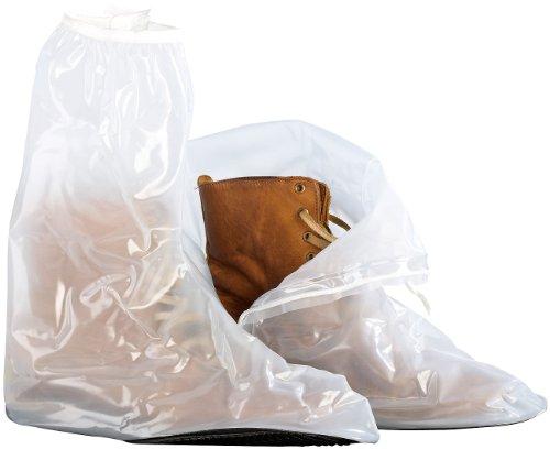 Semptec Urban Survival Technology Transparente Regenüberschuhe, Größe 43-45 (Einfache Geist Schuhe)