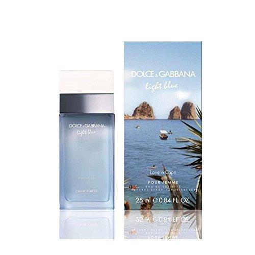 Dolce & Gabbana Getränk-Light Blue Capri PF 25ml Blue Getränke
