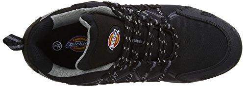 Dickies Tiber, Chaussures de sécurité homme Noir (Black)
