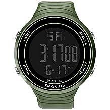 Coconano Relojes Hombre, Hombres De Lujo Analógico Digital Militar Deporte Led Impermeable Reloj De Pulsera