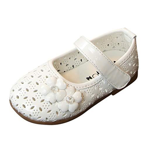 Ohrringe Diamant Kostüm - koperras Kinder Mädchen hohlen Diamanten Blumen süße Prinzessin Schuhe einzelne Schuhe Sandalen Lackleder Baotou Magie Aufkleber wild süß