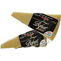 Die beste Parmigiano Reggiano von Italie, Landwirtschaftsbetrieb Bonat, 7 Jahre gereift, 1 Stuck 1 kg, vakuumverpackt, in einem Frischhaltebeutel aus Baumwolle