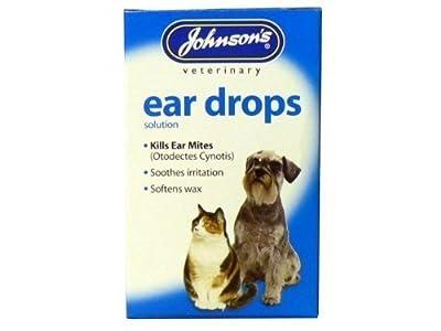 4 Units Saver Pack - Johnson's Vet - Ear Canker Drops 15ml from Johnson's Vet