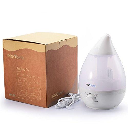 InnoBeta® 2,4 Liter Ultraschall-Luftbefeuchter Cool Mist - 7