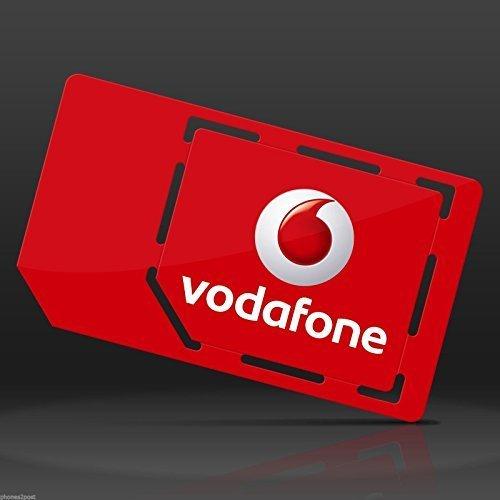 Vodafone 4G Super-schnell MULTI SIM-Karte Prepaid für iPhone 4, 4S, 5, 5C, 5S, 6, 6S, 6 iPad 3, 4, 5, Luft/Luft 2 / Galaxy S3, S4, S5, S6 S6-Edge, Galaxy Tab/Notizen 2, 3, 4, 5, HTC, Sony, Blackberry & Alle Mobilen Gerät - UNBEGRENZTE ANRUFE, SMS & DATEN - ERHÄLTLICH NUR VON > MOBILES DIRECTS COMMUNICATIONS LTD