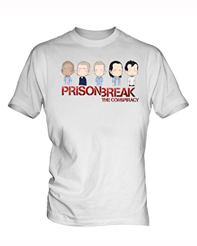 prison break 4 White Men's T-Shirt