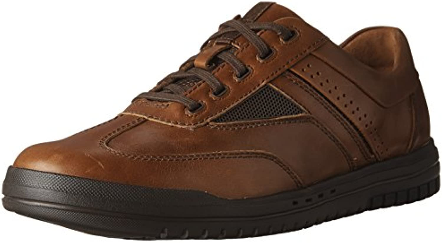 CLARKS Men's UnRhombus Fly Brown Leather 7 D US