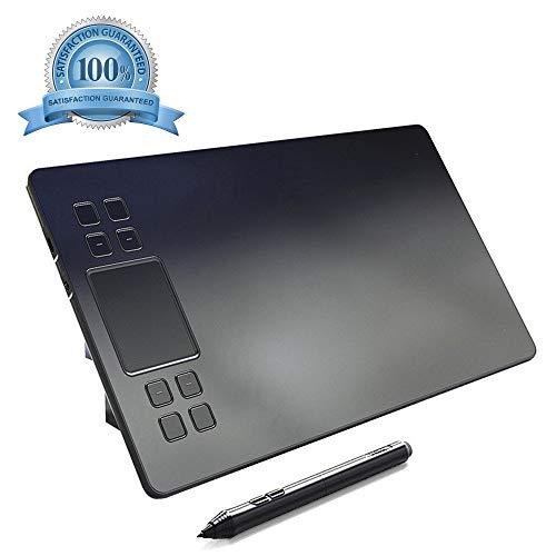 YELLOL Zeichenbrett Smart Touch-Elektronische Grafiktablett A50 10X6 Zoll 5080 LPI Zeichenbrett Mit Typ-C-Schnittstelle