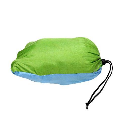 Doppel Person Outdoor Camping Hängematte, Maximale Belastbarkeit 300KG, aus Fallschirmseide - 4