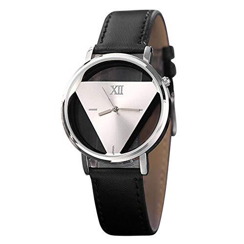 Waselia Holzuhren Kaufen Uhren Modern Damen Markenuhren Damen/Damenuhren/Herrenuhren Online Kaufen/Damen Holzuhr/Leder Uhr Herren/Analoge Quarz-Runde Armbanduhr Uhren FüR Herren