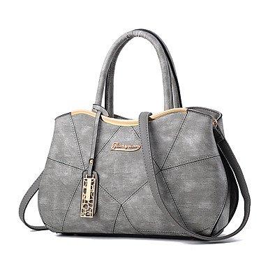 Frauen Handtasche Mode Spleißen Schulter Messenger Crossbody Taschen / Handtaschen Tote Blushing Pink