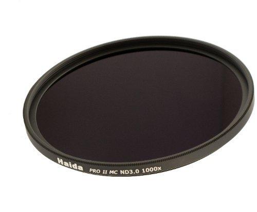 Haida PRO II Serie MC (mehrschichtvergütet) Neutral Graufilter ND1000 - 72mm - Inkl. Cap mit...