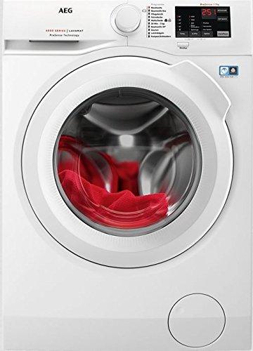 AEG L6FB50478 lavatrice Libera installazione Caricamento frontale Bianco 7 kg 1400 Giri/min A+++