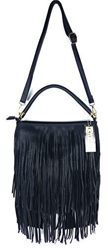GFM, Borsa a tracolla donna Style 3 - Black (KL00)
