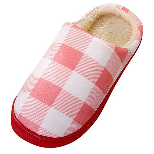 ZODOF Zapatos Dormitorio Antideslizantes Invierno