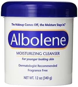 Albolene Moisturizing Cleanser, 12oz ( 2pack)