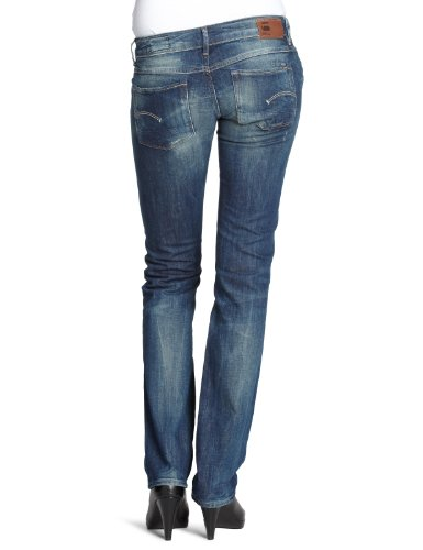 G-Star 3301 Straight - Jeans - Femme Bleu (Rugby Wash)
