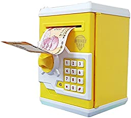 higadget Cash Bank with Smart Electronic Lock Safe for Coin Notes (Multicolour)