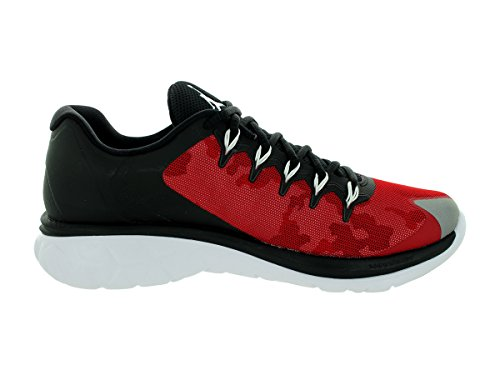 Nike Jordan Flight Runner 2, Scarpe sportive, Uomo Black/Wolf Grey-Gym Red