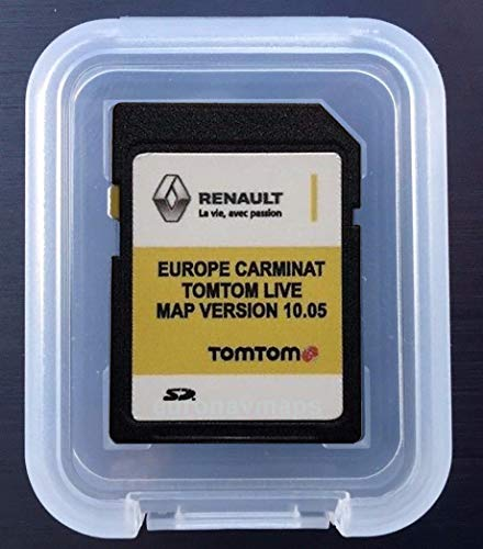 Carte SD GPS Europe 2018-10.05 - Renault Tomtom L