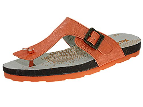 tong kickers ditik vernis orange, chaussures femme femme kickers d53kick053 Orange