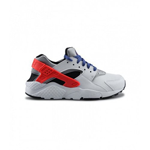 Nike Zapatillas de Running para Niños, Blanco (Wht/Ttl Crmsn-Blck-