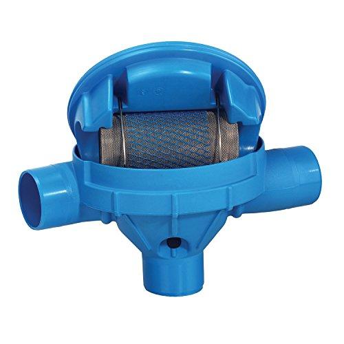 Regenwasserfilter Zisternenfilter 3P Sinusfilter SF mit Edelstahlsieb für den Einbau in die Zisterne, Anschluss DN 100, Höhenversatz 0 cm. Für die Regenwassernutzung im Haus und zur Gartenbewässerung