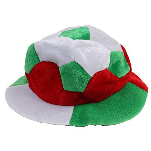 Sharplace Weltmeisterschaft Fan Hut Mütze Fußball Fans Kleid Kostüm - Italien (Fußball-kleid)