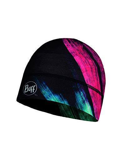 Buff ThermoNet Mütze, Solar Pink, One Size Merino Winter Cap