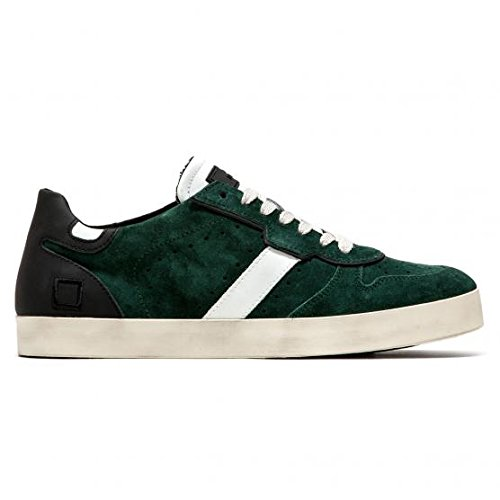 DATE SNEAKERS COURT VELOUR FOREST (42 IT, 9US)